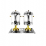 Double Tank Gold Plated Juice Dispenser
