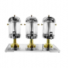 Triple Tank Gold Plated Juice Dispenser