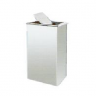 Stainless Steel Rectangular Flip Top Bin