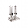 Double Tank Stainless Steel Juice Dispenser